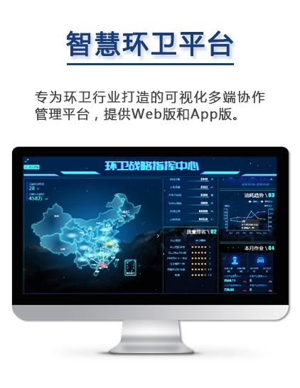 智慧环卫一体化信息管理平台